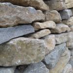 creek rock wall
